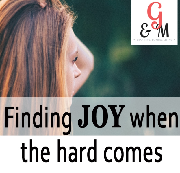 JOY in the hard times